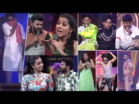 Sinnappa, Roll Rida amazing dance performance on Dhee 13 Kings vs Queens stage, telecasts on 27 October
