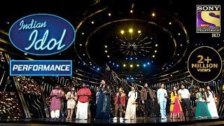 सारे Contestants ने Alka, Udit और Kumar Sanu को दिया एक Tribute!   Indian Idol Season 12