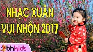 Nhạc Tết Thiếu Nhi - Nhạc Xuân Vui Nhộn 2018 [HD]