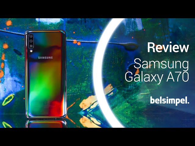 Belsimpel-productvideo voor de Samsung Galaxy A70 Black