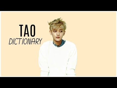 Tao's Dictionary