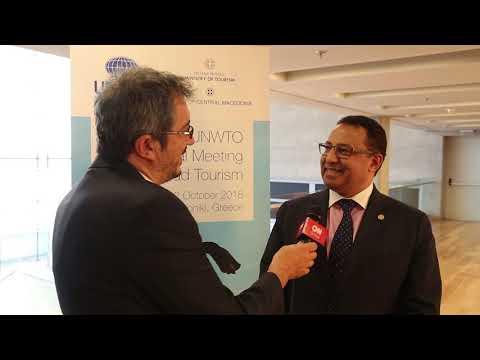 Άχμεντ Εϊουέιντα, υπεύθυνος της Παγκόσμιας Τράπεζας για την πολιτιστική κληρονομιά και τον τουρισμό