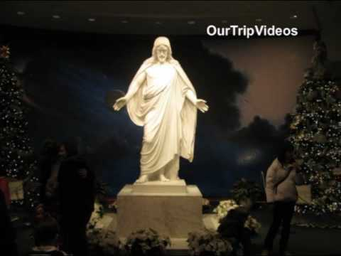 Pictures of National Christmas Tree and Mormon Temple Lights,  DC, Kensington, US
