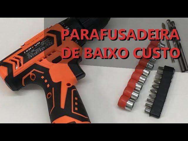 REVIEW PARAFUSADEIRA DE BAIXO CUSTO LOMVUM