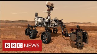 Mars rover begins search for alien life on Red Planet - BBC News