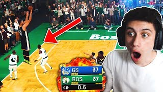 I played 7'7 GIANT STEPHEN CURRY using 5'4 TINY KYRIE IRVING & you won't believe what happened...
