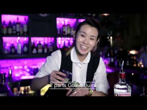 Best Bartender cocktail at Djiboutii by Tink Aira Chan