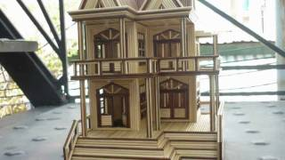 Nhà Tăm Tre - Bamboo Toothpick House - [Princess Of China - Coldplay ft. Rihanna] - [HD]