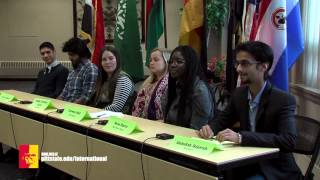 'Student Panel: International Student Life in Pittsburg (international education week)