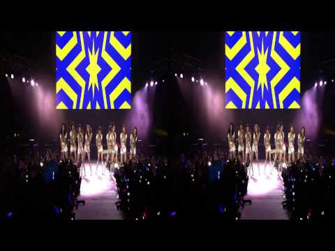 Girls Generation - Oh! SM TOWN LA 3D Bluray Viewable in 3D!