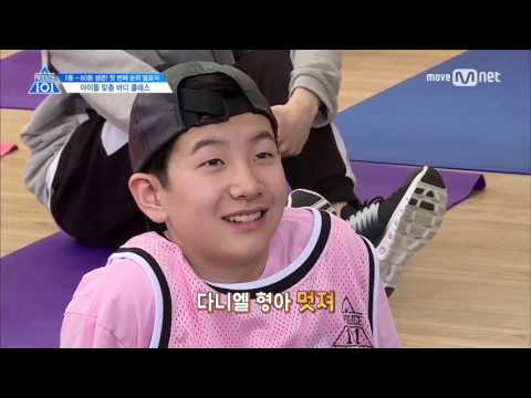 [ENG] PRODUCE 101 Season 2 EP5 | Shoulder Gangster 'Nayana' | 101 Physical Test