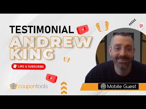 Videos Coupontools.com | Testimonial Andrew King