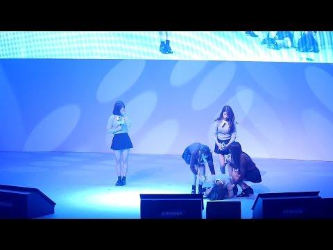 161103 여자친구 (GFRIEND) 머메이드'(Mermaid)공연중 신비 실신 [전체] 직캠 Fancam (청춘문답라이브퀴즈콘서트) by Mera