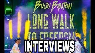 CELEBRITY INTERVIEWS @ BUJU BANTON LONG WALK TO FREEDOM CONCERT