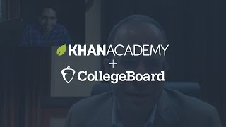 Sal talks to CEO of the College Board, David Coleman