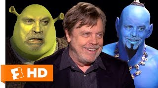 Mark Hamill Voice Acting Character Impressions Challenge   Fandango All Access