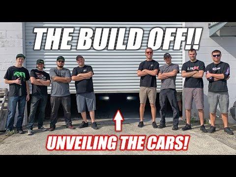 Build Wars DAY 1: Team Cleetus -VS- Team Boostedboiz ULTIMATE Youtube Build-Off!