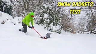 4 Snow Gadgets That'll Help You Dig Yourself Out This Winter