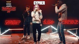 Lil Pump, BlocBoy JB and Smokepurpp's Cypher - 2018 XXL Freshman