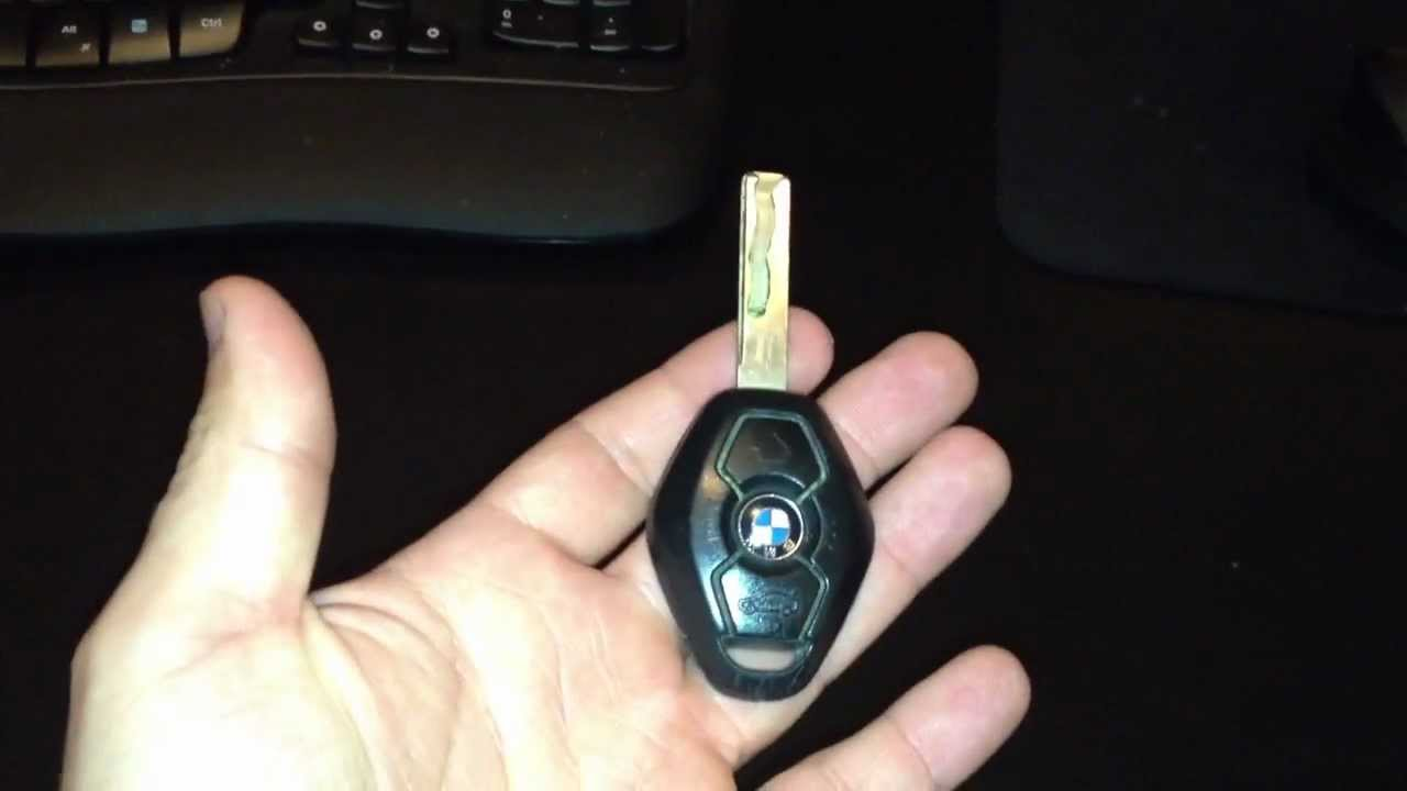 Bmw Key Battery Replacement >> How to change a battery in a BMW key remote e46 e39 525i