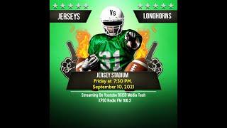 Jersey Football,  Jersey Bulls Vs Hebbronville Longhorns