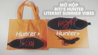 Mở hộp Biti's Hunter Liteknit Summer Vibes : phẩy 's hàng Việt Nam chất lượng cao