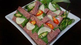 Vietnamese Cured Fermented Beef - Nem Chua