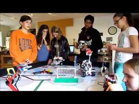 2014 FLL World Class - Robot Missions Day 1 - Team 2766