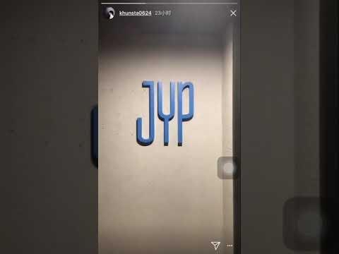 2PM NICHKUN SHOWING JYP Ent NEW BUILDING INSTA STORY | 2pm成员尼坤IG故事中秀jyp公司新建物