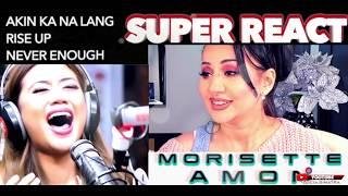 Vocal Coach REACTS to MORISSETTE AMON Akin Ka NaLang + Rise Up + Never Enough  | Lucia Sinatra