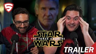 Star Wars: The Force Awakens Trailer (Official) Reaction!