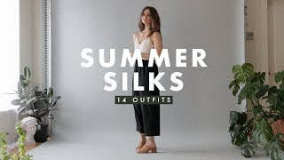 14 Summer Outfit Ideas 2018: Silk Outfit Inspiration | Dearly Bethany