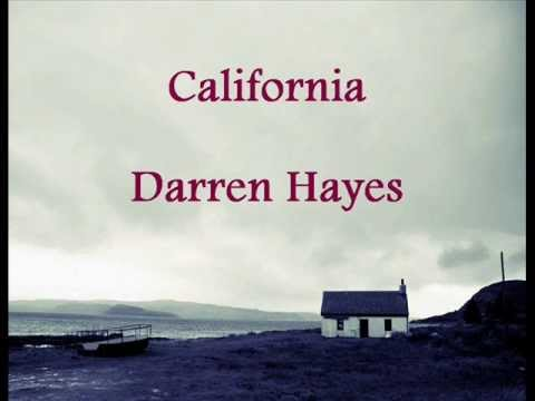 Darren Hayes- California Lyrics