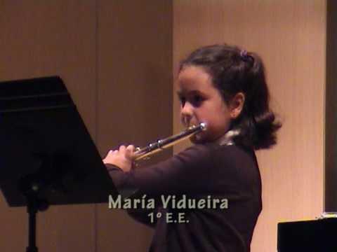 Maria Vidueira. Flauta travesera.  abril 2010.mpg. CONSERVATORIO PROFESIONAL DE GRANADA