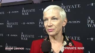 """Annie Lennox at the """"A PRIVATE WAR""""  premiere"""