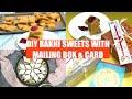 Kaju Katli Soft Sukhdi Gor Papdi to Celebrate/ Mail Raksha Bandhan Rakhi Festival Video Recipe