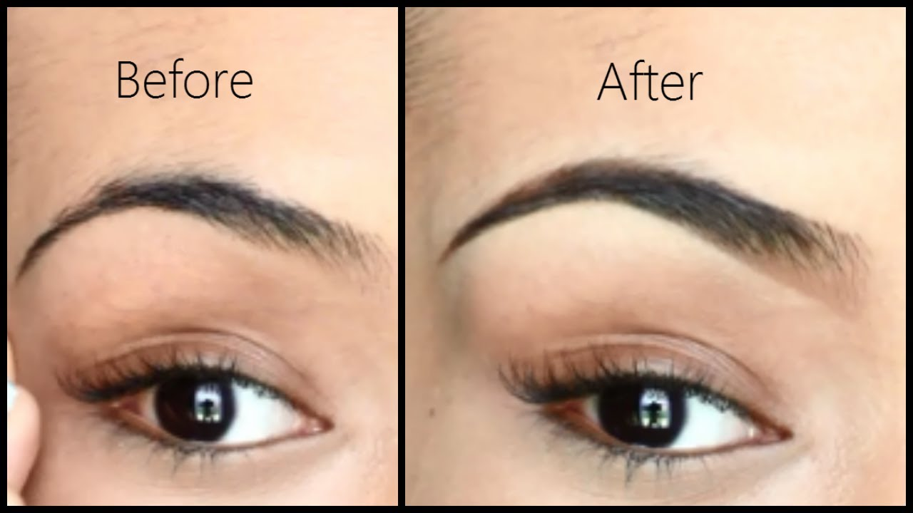 Eyebrow Tutorial - How I Fill in and Shape My Brows ...
