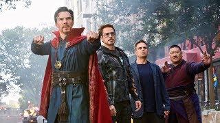 Avengers : Infinity War - New York Fight Scene || Dr Strange vs Ebony Maw || Spiderman Returns ||FHD