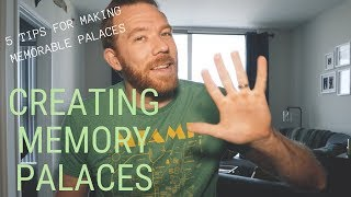 5 TIPS FOR CREATING MEMORY PALACES // RANDOM MEMORY TIPS #012