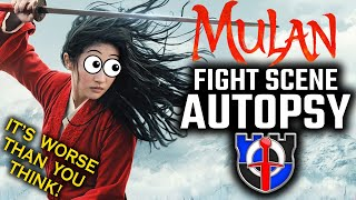 Fight Scene Autopsy: Mulan - IT'S WORSE THAN YOU THINK. . .