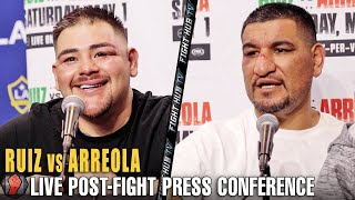 ANDY RUIZ VS. CHRIS ARREOLA FULL POST-FIGHT PRESS CONFERENCE