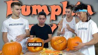 Pumpkin Carving Challenge For Halloween