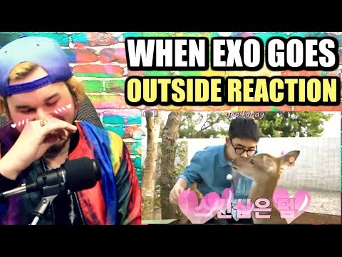what happens when EXO goes outside | D.O IS TOO ADORABLE! | REACTION!!