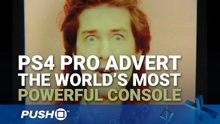 PS4 Pro 80s Tévéreklám