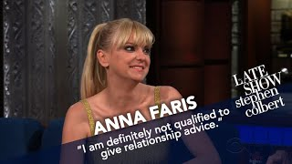 Anna Faris Gives Stephen A Relationship Quiz
