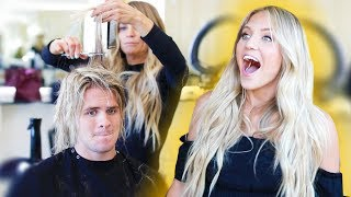 I finally cut all my hair off... (Surprising my wife)