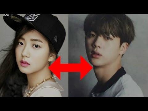 15 Male and female idols KPOP that look alike