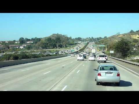 Dirigindo caminhao de San Diego a Los Angeles Caminhao nos Estados Unidos