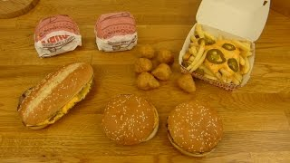 Burger King - The Infamous Chili Cheese Army!