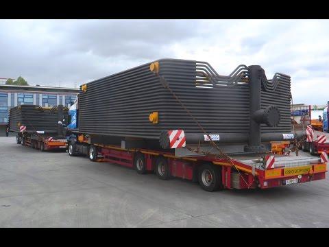 Összekötő elemek szállítása Hamburgba